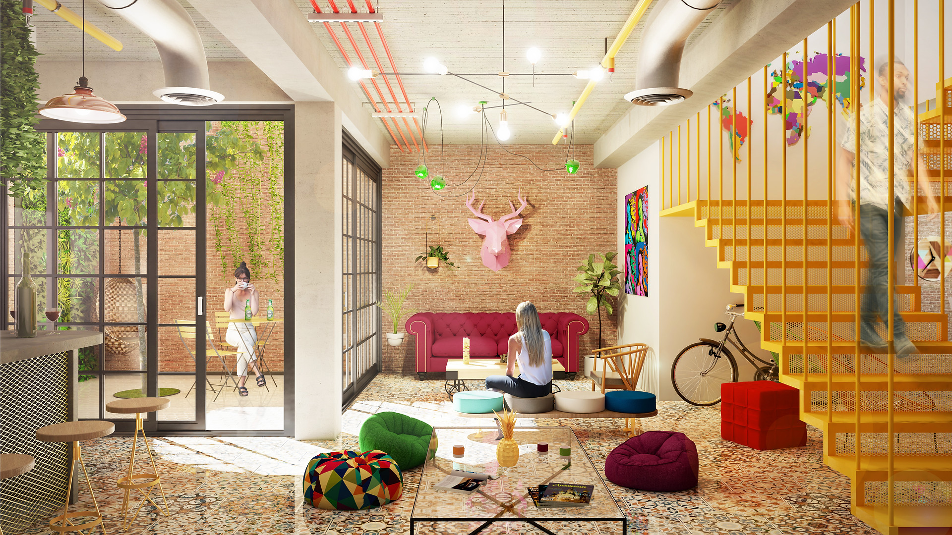 AMAC estudio-Hostel en Malaga-Lounge.jpg