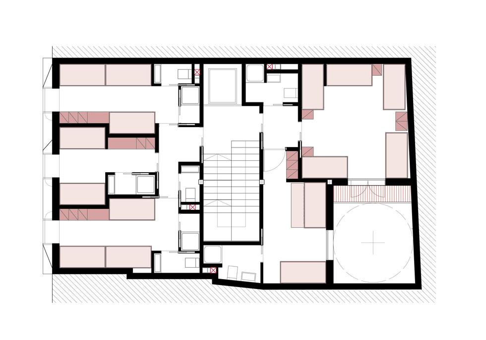 AMAC estudio-Hostel en Malaga-Planta 1 (