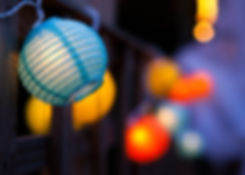 lantern, lights, colurs