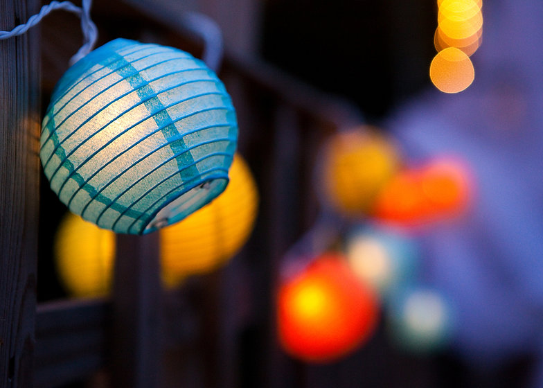 Lanternes de papier