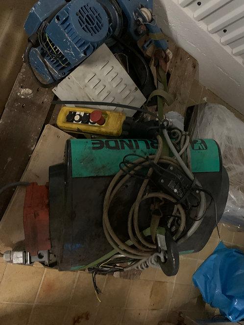 Traverskrane elektrisk