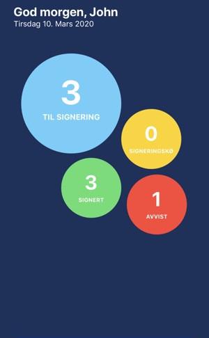 Er du klar for elektronisk signering av seddel, det er vi!
