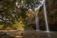 An early morning at Sodong waterfall