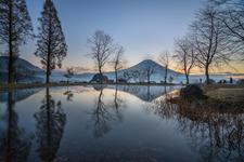 Perfect reflection of Mt Fuji