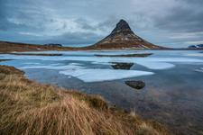 Reflection of Mt Kirkjufell