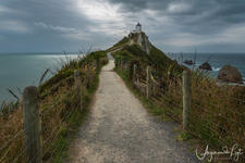 The Nugget Point lighthouse