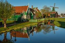 Reflection in the Zaanse Schans