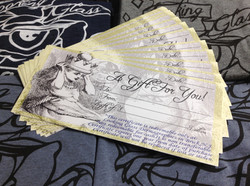 Looking Glass Gift Certificates!