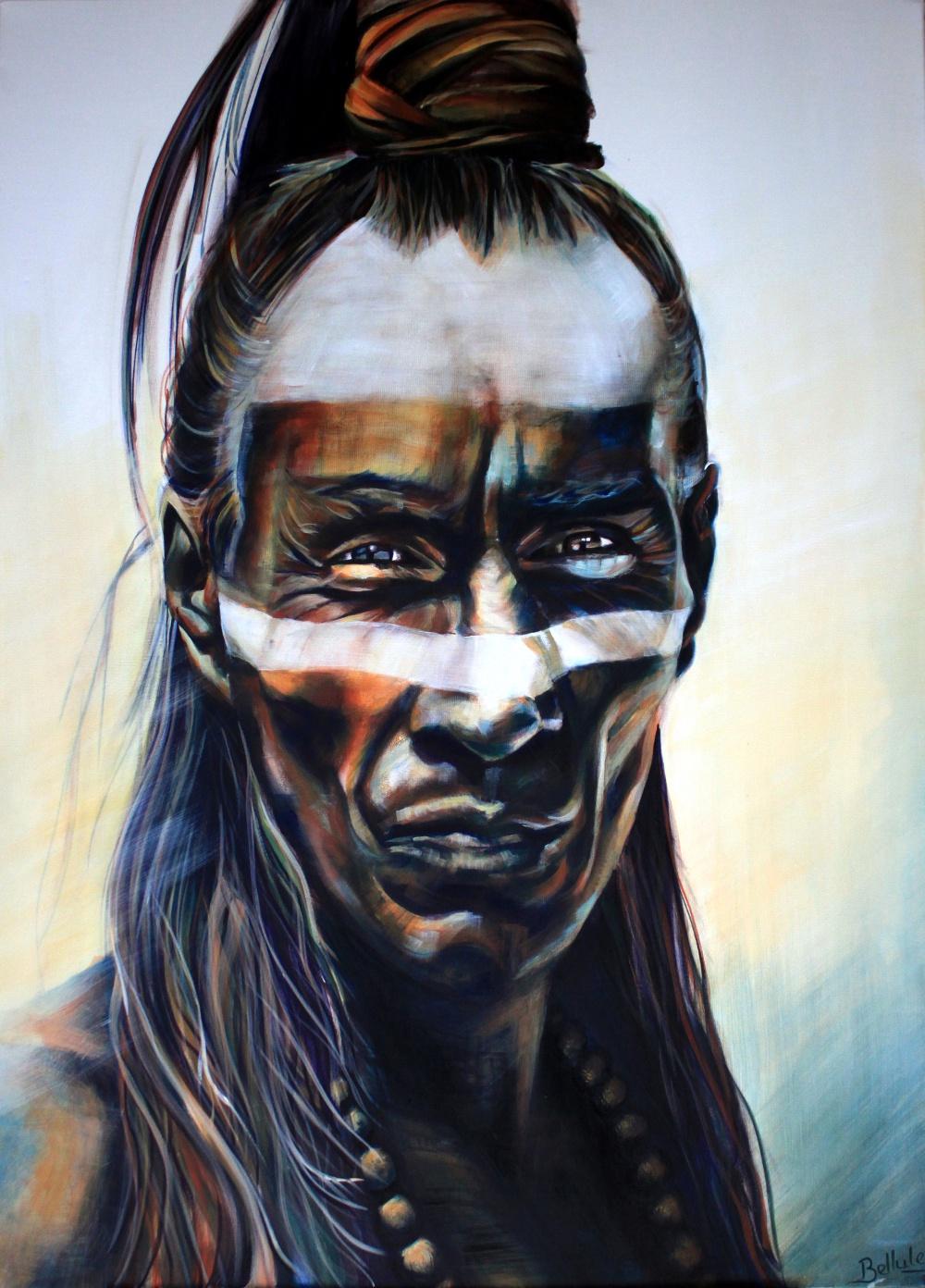 mayan indian de Julie Bellule
