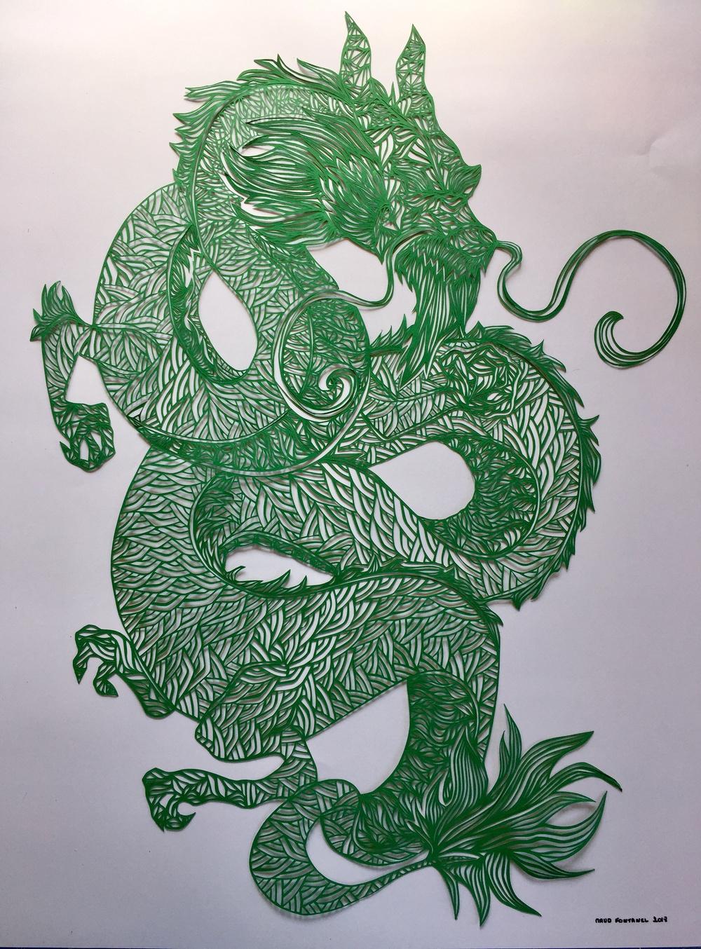 dragon de Maud Fontanel
