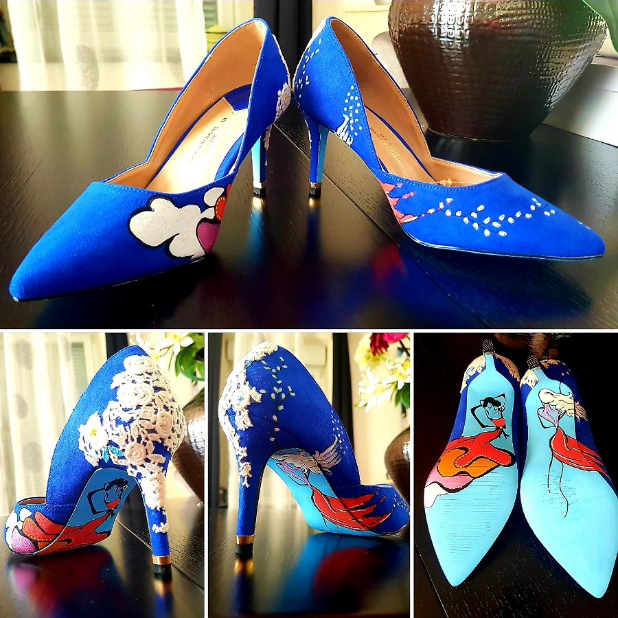 Chaussures bleue