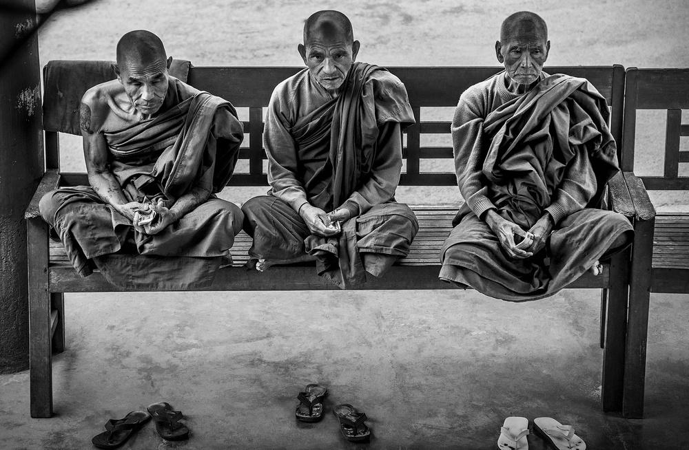 les 3 moines de Pierre Chancy