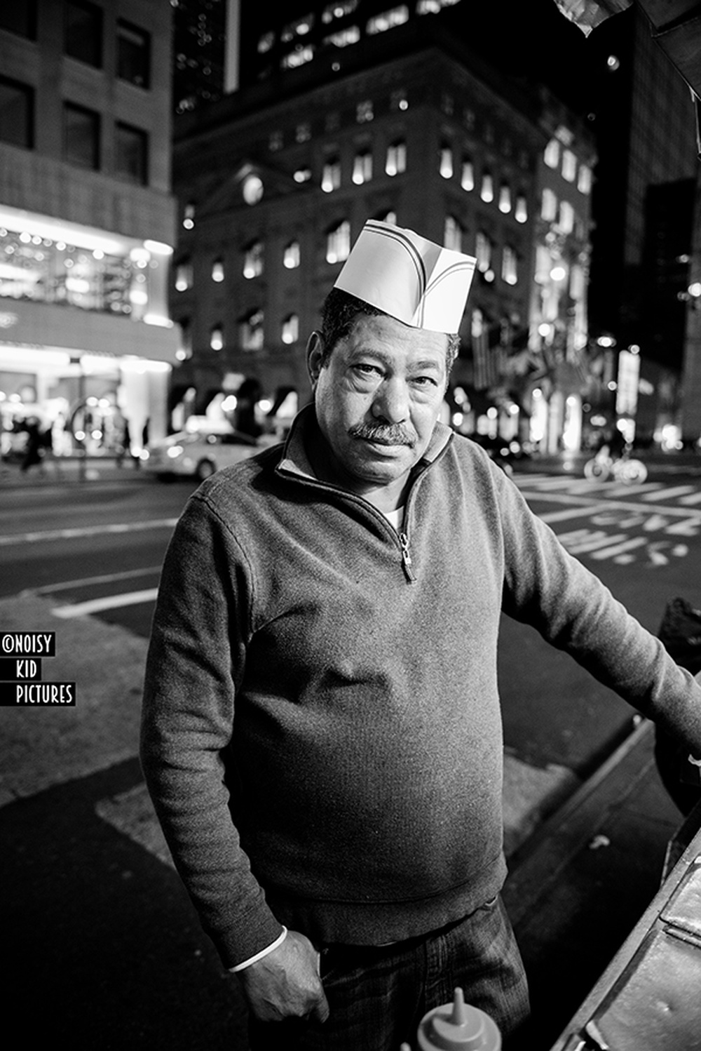 new york american portrait de Noisy Kid.