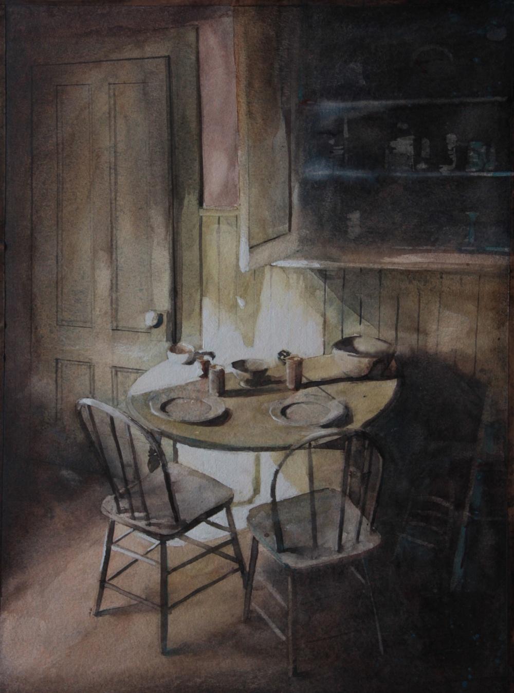 aquarelle 1 de Sylvain Godbert