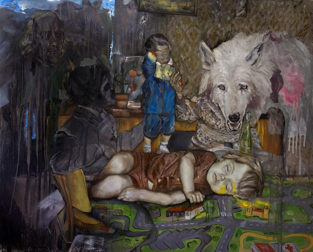 romulus et adam de David Antonio Loureir