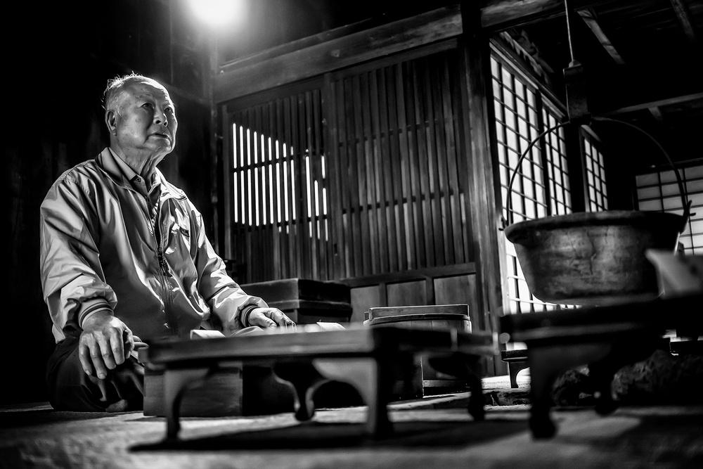 le vieil homme de tsumago de Pierre Chan