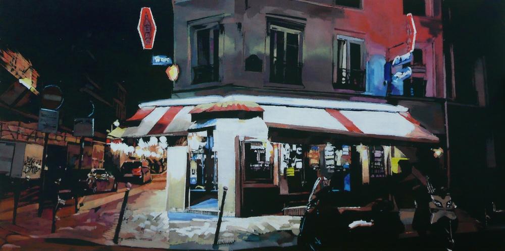bar tabac parisien de Franck Le Boulicau