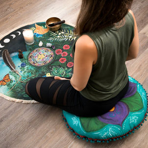 Mandala Blooms Meditation Decoration