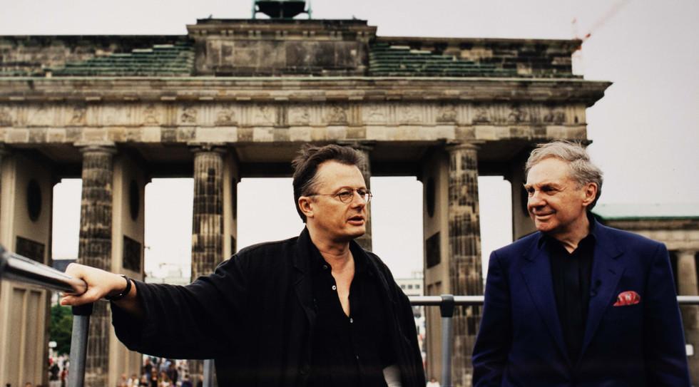 Harald Juhnke und Frank Castorf - Berlin