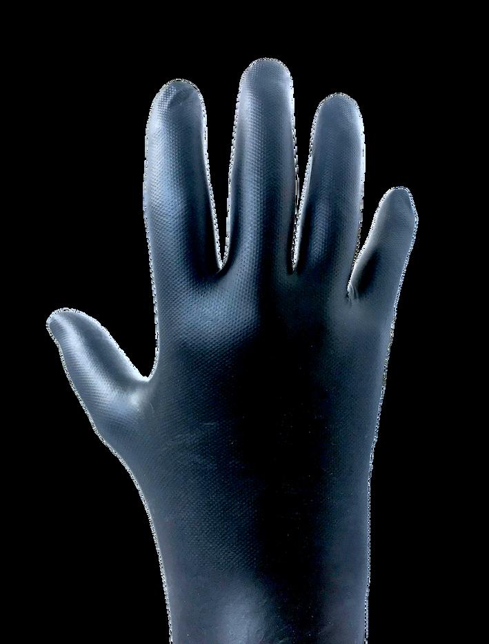 RPG Black Nitrile Gloves