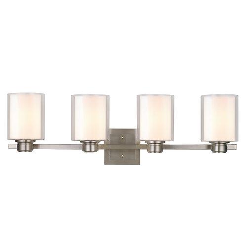 DESIGN HOUSE 556167 OSLO COLLECTION 4-LIGHT VANITY LIGHT