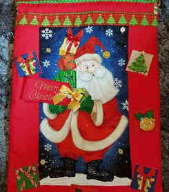 Presents Anyone? Santa Sack