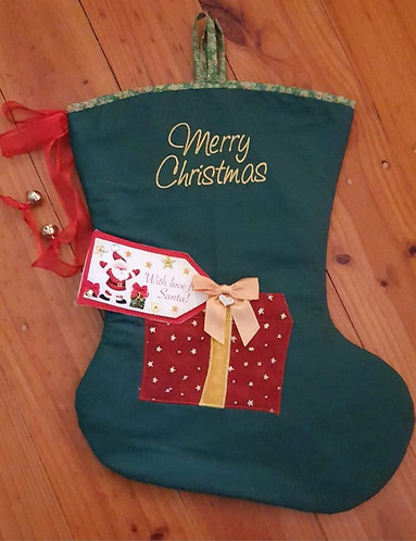 Ribbons & Bows - Christmas Stocking - Medium