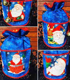 Jingle Bells - Round Standing Sack