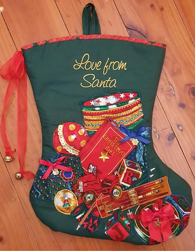The Toy Collection - Christmas Stocking - Medium