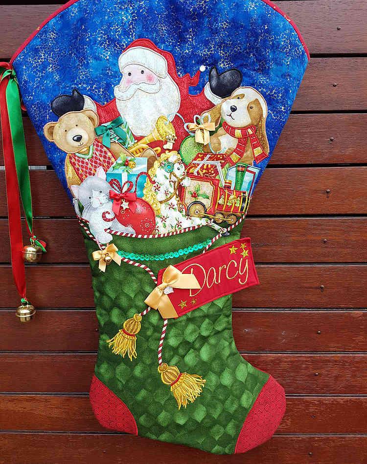 Full of Toys Large Christmas Stocking