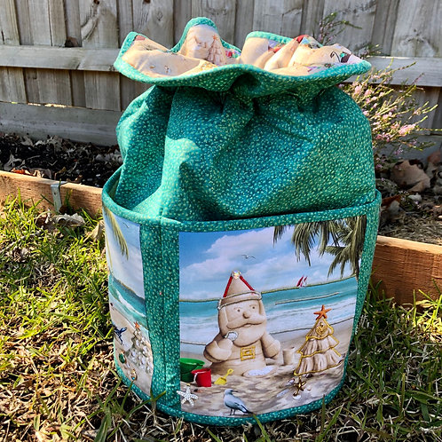 Christmas in the Sun - Round Standing Sack - Large