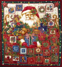 Classic Santa - Advent Calendar