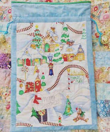 Winter Wonderland Santa Sack