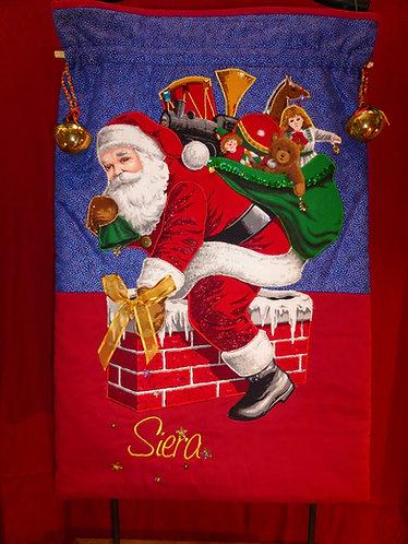 Chimney Santa - Santa Sack