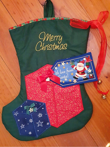 Christmas Gifts - Christmas Stocking - Medium