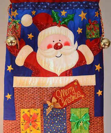 Ho Ho Ho It's Christmas - Large Christmas Stocking