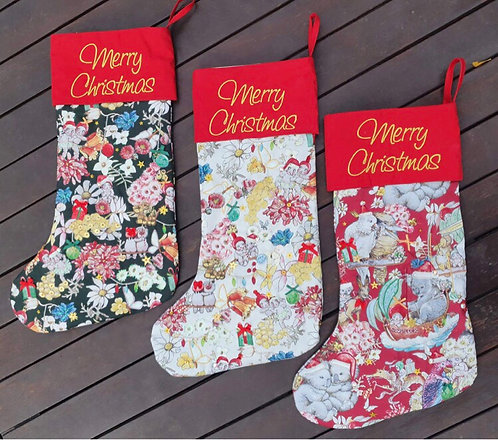 Gumnut Christmas Stocking