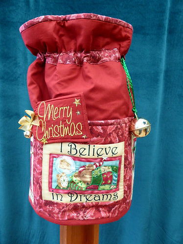 I Believe - Round Standing Sack - Large