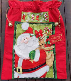 Candy Canes for Christmas - Super Santa Sack