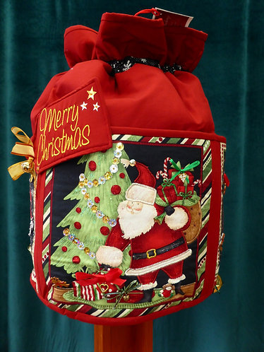 Cookies for Santa - Round Standing Sack - Large