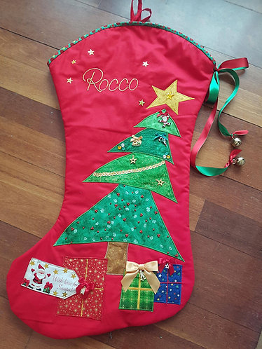 O Christmas Tree - Christmas Stocking - Large