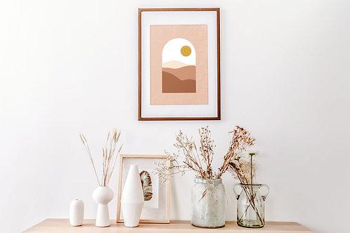 """""""Terrakotta álom"""" print A3"""