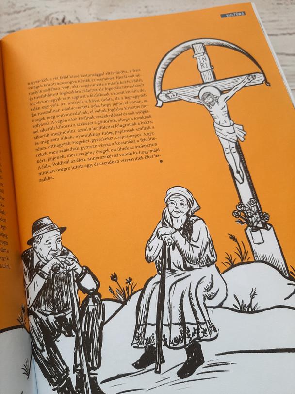 Illusztráció Kollár-Klemencz László novellájához
