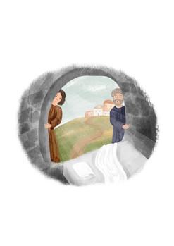 Az apostolok megtalálják az üres sírt