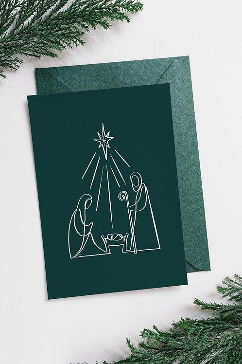 Betlehemes képeslap