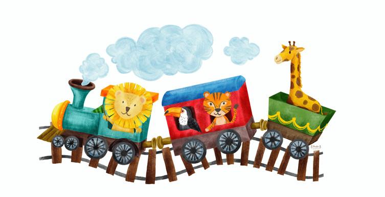 Állatkert a vonaton