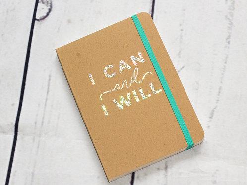 """I can & I will"" füzet"