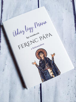 Ferenc Pápa: Üdvöz légy Mária könyvborító