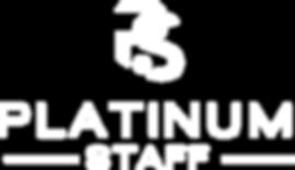 Platinum Staff logo-white-transparent.pn