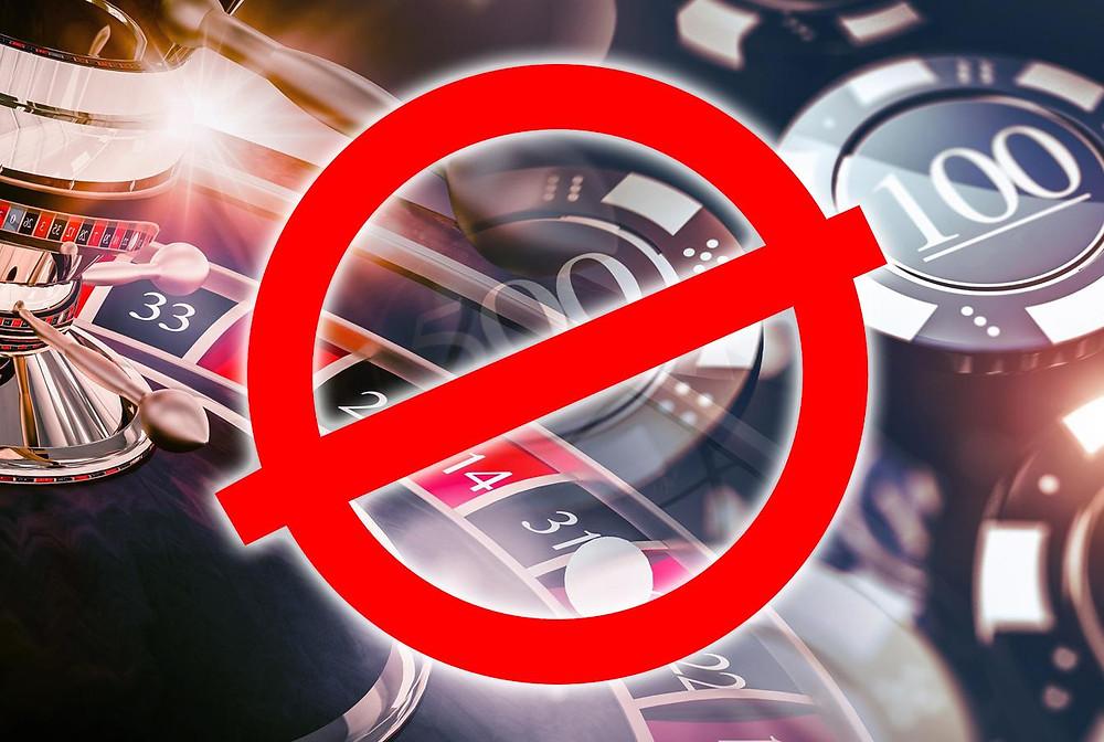 Запрет на онлайн-казино